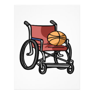 Wheel Chair Basketball Flyer