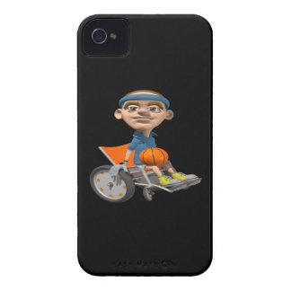 Wheel Chair Basketball iPhone 4 Cover