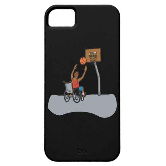 Wheel Chair Basketball iPhone SE/5/5s Case