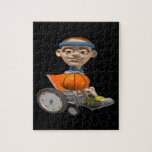 Wheel Chair Basketball Puzzle