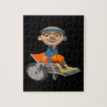 Wheel Chair Basketball Puzzles