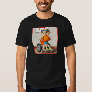Wheel Chair Basketball Shirt