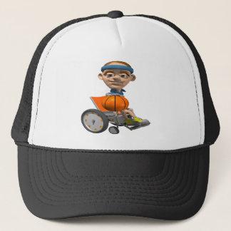 Wheel Chair Basketball Trucker Hat