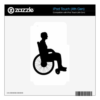 Wheel Chair Decal For iPod Touch 4G