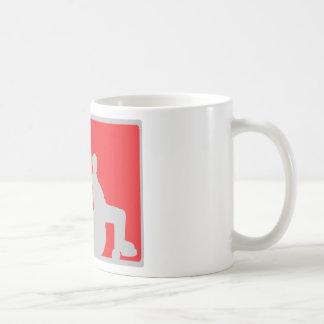 wheel chair icon coffee mug