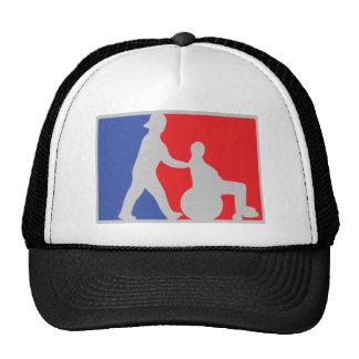 wheel chair icon trucker hat