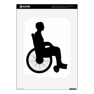 Wheel Chair iPad 3 Decal
