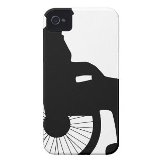 Wheel Chair iPhone 4 Cover