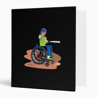 Wheel Chair Lefty.png 3 Ring Binder