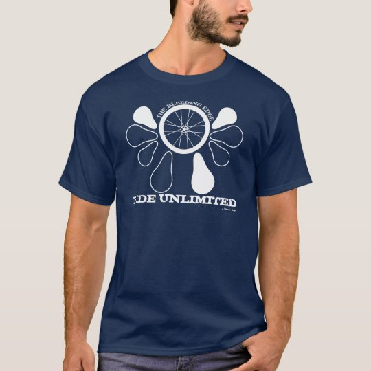 Wheel Crest, RIDE UNLIMITED, a Velasco ... T-Shirt