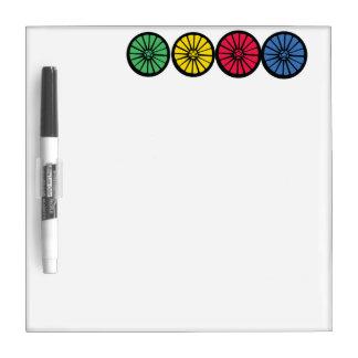 Wheel Dry Erase Board