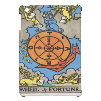 Wheel Fortune Tarot Card Fortune Teller iPad Mini Cases