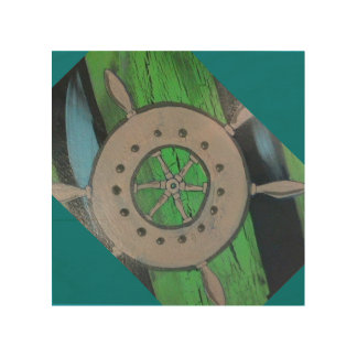 wheel from Anchor of Design collection Wood Wall Art