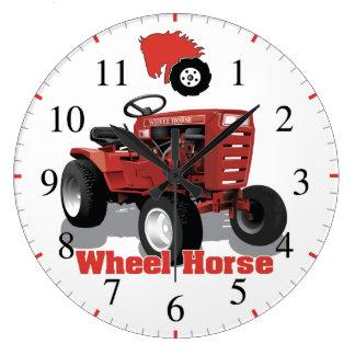 Wheel Horse C 100 Vintage Antique Garden Tractor Large Clock