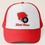 "Wheel Horse Garden Tractor Trucker Hat<br><div class=""desc"">Wheel Horse Garden Tractor Trucker Hat Vented Red Adjustable</div>"