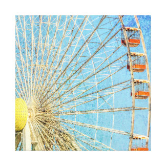 Wheel in the Sky Wrapped Canvas