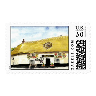 'Wheel Inn' Postage
