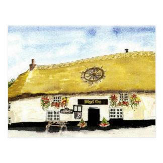 'Wheel Inn' Postcard