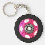 Wheel key ring keychains