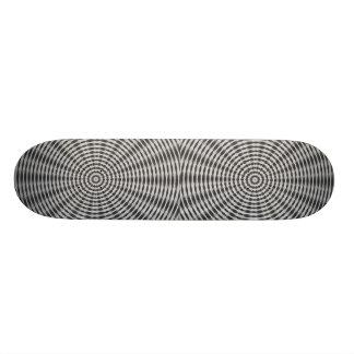 Wheel Motif Skateboard Deck