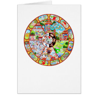 Wheel of Becoming Greeting Card