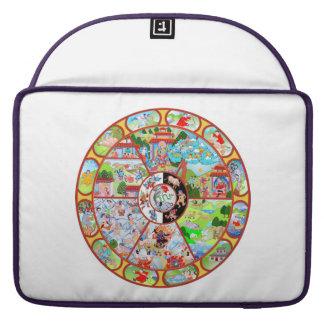 "Wheel of Becoming Macbook Pro 15"" Sleeve Sleeve For MacBooks"