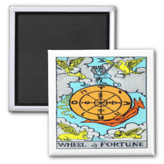 Wheel of Fortune 2 Inch Square Magnet