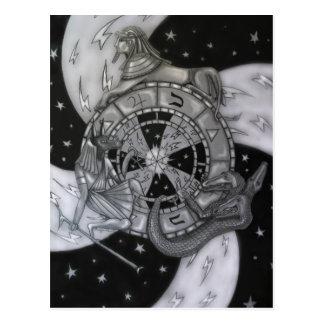 Wheel of Fortune Postcard