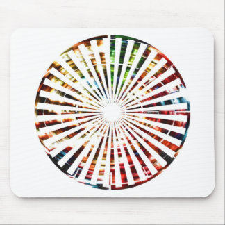 Wheel of Fortune - Sparkle Red Designs Mouse Pad