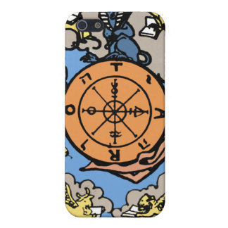 """Wheel of Fortune "" Tarot Card iPhone4 Case"