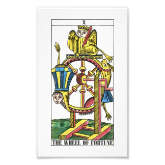 Wheel of Fortune Tarot Card Photo