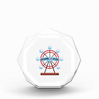 Wheel Of Fun Acrylic Award