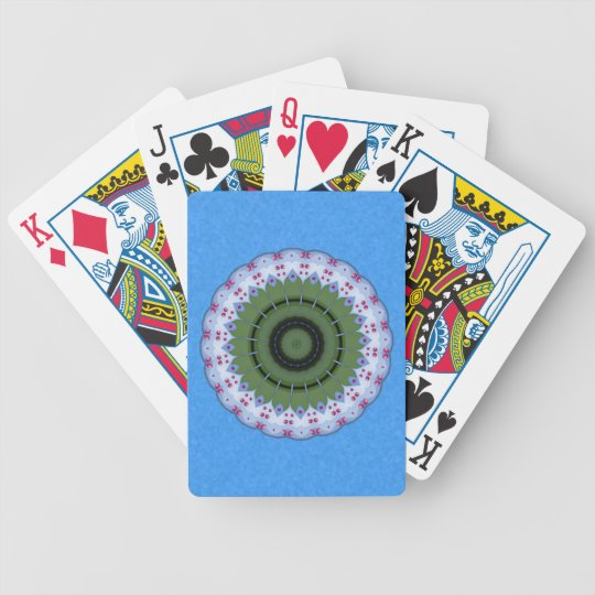 Wheel of Hearts Playing Cards