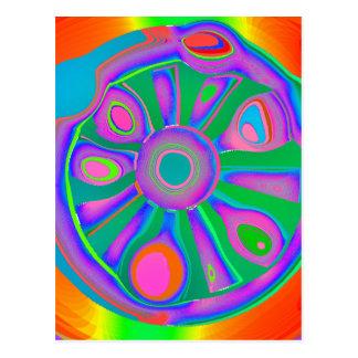 Wheel Of Karma Postcard