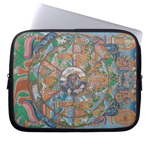 Wheel of Life Laptop Sleeve