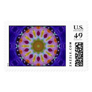 Wheel of Life POSTAGE STAMP