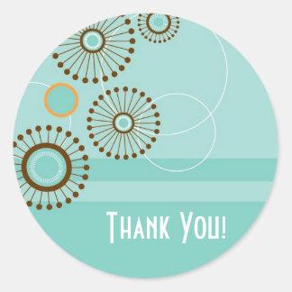 Wheel Of Life, Thank You! Round Sticker
