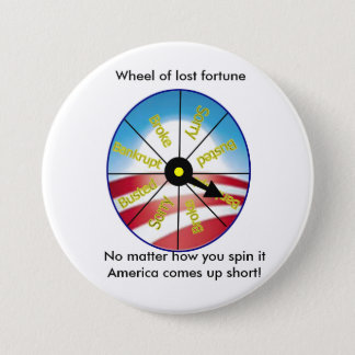 Wheel of lost fortune button
