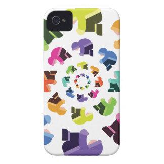 Wheel of Parkas iPhone 4 Case