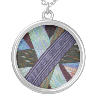 Wheel of scarves necklace