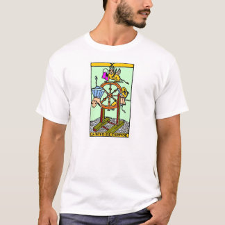 Wheel of the fortune, letter of taro T-Shirt