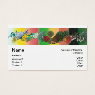Wheel of the Year business card