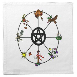 Wheel Of The Year Napkin