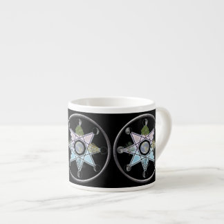 Wheel of the Year Octagram Espresso Cup