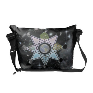 Wheel of the Year Octagram Messenger Bag