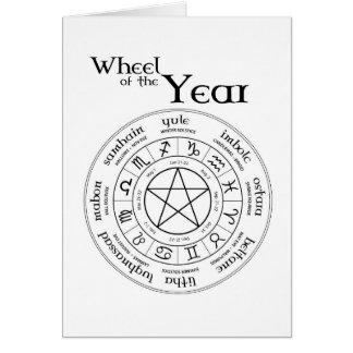 Wheel of the Year - Southern Hemisphere Card