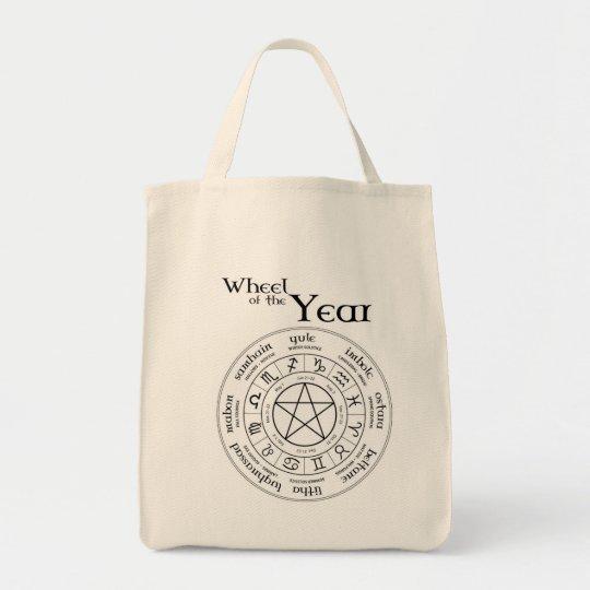 Wheel of the Year - Tote Bag - North Hemisphere