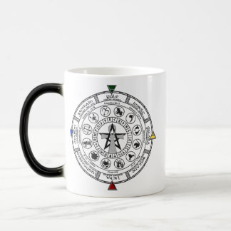 Wheel of the Year Zodiac Sabbats Runes Magic Mug