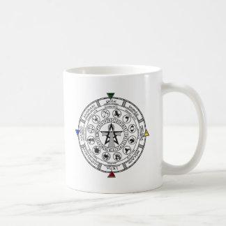 Wheel of the Year Zodiac Sabbats Runes Mug