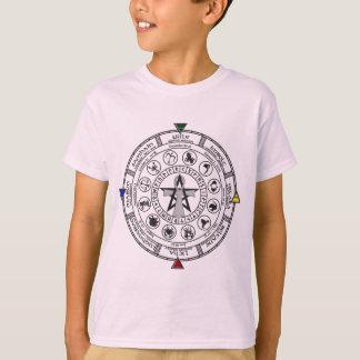 Wheel of the Year Zodiac Sabbats Runes T-Shirt